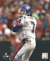 John Elway - Old Uniform Fine Art Print
