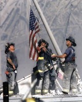 New York Firefighters / Ground Zero Framed Print