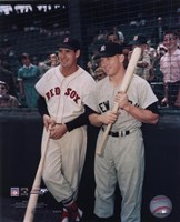 Ted Williams / Mickey Mantle Fine Art Print