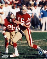 Joe Montana - #12 Old school Fine Art Print
