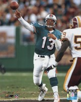 Dan Marino - Passing Action Fine Art Print