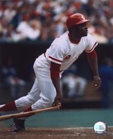 Joe Morgan - Batting Fine Art Print
