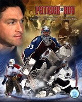 "Patrick Roy - ""Legends"" Framed Print"