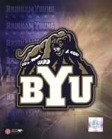 Brigham Young University Logo Fine Art Print