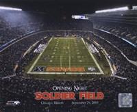 Soldier Field - Opening Night - 9/29/03 Fine Art Print