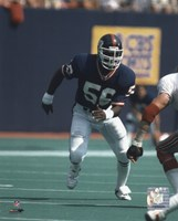 Lawrence Taylor - Game Action Fine Art Print