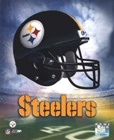 Pittsburgh Steelers Helmet Logo Framed Print