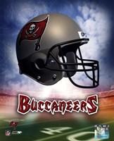 Tampa Bay Buccaneers Helmet Logo Framed Print