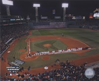 2004 World Series Opening Game National Anthem at Fenway Park, Boston Fine Art Print