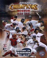 Boston Red Sox 2004 World Series Champions Composite Fine Art Print