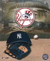 Yankees - '04 Logo & Cap Fine Art Print