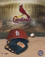 Cardinals - '04 Logo / Cap Fine Art Print