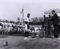 Lou Gehrig - Farewell (Horizontal) Fine Art Print