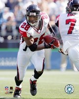 Warrick Dunn - '05 / '06 Action Fine Art Print