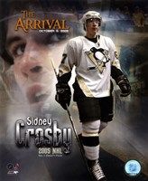 10/5/05 -  Sidney Crosby / The Arrival Framed Print