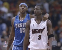 Carmelo Anthony / Dwyane Wade '05 / '06 Action Fine Art Print