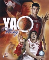 Yao Ming - Portrait Plus '05 Fine Art Print