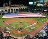 Minutre Maid Park - '05 W.S. Game 3 National Anthem Fine Art Print