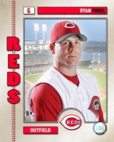 Ryan Freel - 2006 Studio Plus Fine Art Print