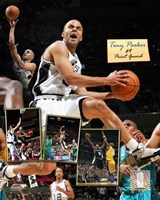 Tony Parker - 2006 Scrapbook Fine Art Print