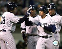 Alex Rodriguez - '06 Grand Slam / Celebration Fine Art Print