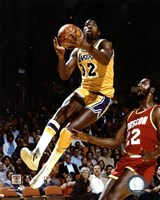 Magic Johnson - Action Fine Art Print