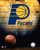 Pacers - 2006 Logo Framed Print