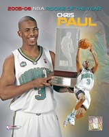 Chris Paul - 2006 Rookie Of The Year Fine Art Print