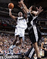 Josh Howard - '06 Playoff Action Fine Art Print
