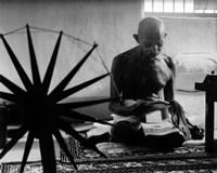 Mohandas K. Gandhi (#15) Framed Print