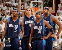 Mavericks Group - 2006 Finals / Game 4 (#26) Fine Art Print