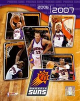 '06 / '07 - Suns Team Composite Framed Print