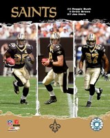 "Saints - '06 / '07 ""Big 3"" Fine Art Print"
