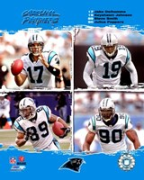 "2006 - Panthers ""Big 4"" Fine Art Print"