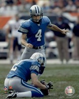 Jason Hanson - '06 / '07 Action Fine Art Print