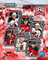 '06 / '07 Devils Team Composite Fine Art Print