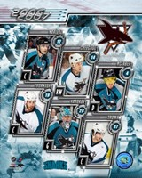 2006 - Sharks Team Composite Fine Art Print