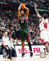 Michael Redd - '06 / '07 Action Fine Art Print