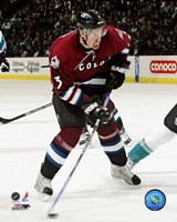 Milan Hejduk - '06 / '07 Home Action Fine Art Print