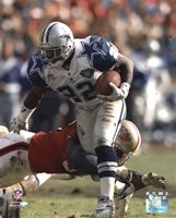 Emmitt Smith - Action Fine Art Print