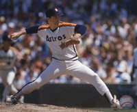 Nolan Ryan - 1988 Action Fine Art Print