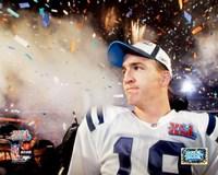 Peyton Manning SuperBowl XLI Fireworks (#23) Fine Art Print