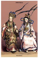Chinese Concubines, 19th Century Fine Art Print