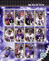 2006 - Ravens Team Composite Fine Art Print
