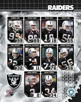 2006 - Raiders Team Composite Fine Art Print