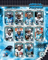 2006 - Panthers Team Composite Fine Art Print