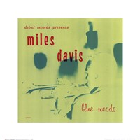 Miles Davis - Blue Mood Wall Poster