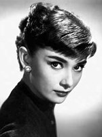 Audrey Hepburn Close Up Wall Poster