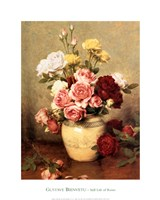 Still Life With Roses Fine Art Print