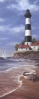 Lighthouse Shoals II Framed Print
